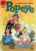 Popeye The Sailor MAn Comic Cover - kami Dari Semua
